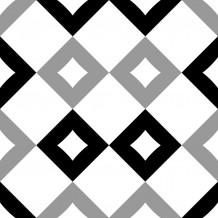 Zelfklevende tegel Square Chequered