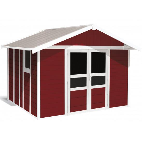 Tuinhuisje Basic Home 11 m² Rood