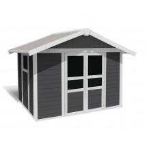 Tuinhuisje Basic Home 7,5 m² Donkergrijs