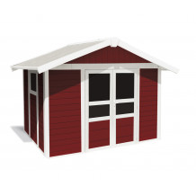 Tuinhuisje Basic Home 7,5 m² Rood