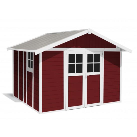 Tuinhuisje Déco 11 m² Rood