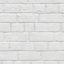 Wandbekleding Element 3D brique blanche