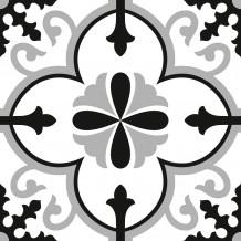 Zelfklevende tegel Square Flore