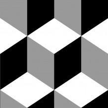 Zelfklevende tegel Square Kube