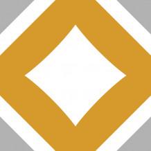 Zelfklevende tegel Square Karro