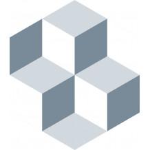 Zelfklevende tegel Diamond Kube