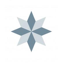 Zelfklevende tegel Diamond Rosace