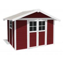 Tuinhuisje Déco 7,5 m² PMMA rood
