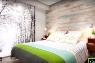 Een nieuwe slaapkamer in een natuurlijke sfeer!