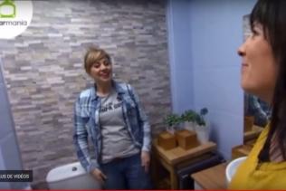 Een geheel vernieuwde badkamer!