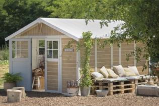 Waarom kiest u een tuinhuisje van Grosfillex?